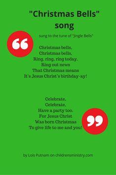 Preschool Christmas song for Sunday school