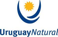 """Uruguay Una transformación de la bandera nacional es lo que nos presenta Uruguay en un logo sencillo y bien definido. Dos líneas curvas formando una """"U"""" con un sol en medio es lo único que acompaña a una agradable tipografía en 2 grosores.  Una solución minimalista y agradable para el país del sur.  Más información: http://www.turismo.gub.uy/"""