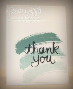 #1 Thank you notes for Club June 2014