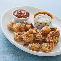 "Blair's Gluten-Free Fried Shrimp from ""Moms' Best Recipes,"" a collection of classic dishes from our families to yours."