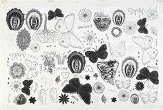 Kiki Smith - Tattoo Print, 1995.