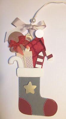 cartoncino mio: Tag di Natale - serie elegant