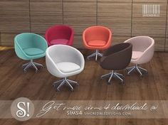 by SIMcredibledesigns.com Found in TSR Category 'Sims 4 Living Chairs'