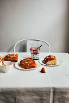 A recipe for orange, marzipan and cardamom Swedish buns from Hummingbird High. Brunch Recipes, Sweet Recipes, Breakfast Recipes, Marzipan, Cooking Bread, Orange Recipes, Eat Dessert First, Sweet Bread, Food Photography