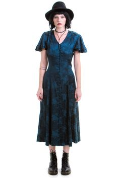 Vintage 90's Witchy Women Dress - S/M – Tunnel Vision