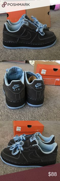Nike Air Force 1 BRAND NEW! Comes with box. Suede material. Will also fit a size 6 in women's. Needs a new home. Nike Shoes Sneakers