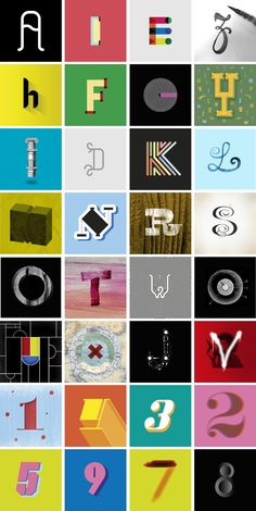 36 days of type - pelayorm #typography #fonts http://www.domestika.org/es/projects/118459-36-days-of-type