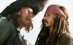 Captain Hector Barbossa & Captain Jack Sparrow