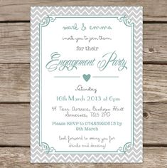 Engagement Invite Templates Interesting Engagement Party Invitations Online  Invitations Card Template .