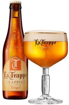 La Trappe - Tripel: 3/5 More Beer, All Beer, Wine And Beer, Best Beer, Beer Brewing, Home Brewing, Beers Of The World, Belgian Beer, Beer Brands