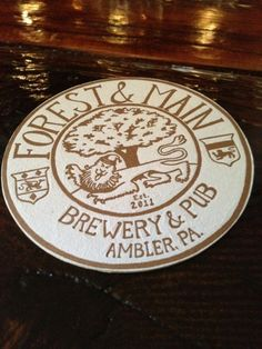 Forest & Main Brewing Company in Ambler, PA