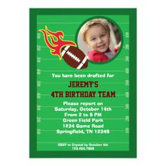 >>>The best place          	Football Photo Birthday Party Invitation           	Football Photo Birthday Party Invitation lowest price for you. In addition you can compare price with another store and read helpful reviews. BuyDeals          	Football Photo Birthday Party Invitation Here a great...Cleck Hot Deals >>> http://www.zazzle.com/football_photo_birthday_party_invitation-161747296110354431?rf=238627982471231924&zbar=1&tc=terrest