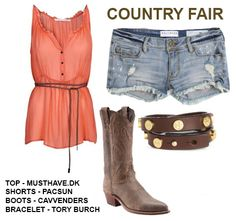 Cute idea but if i wore it to the fair there would be mud all over it:-)