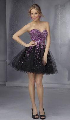 vestido-color-negro-y-morado