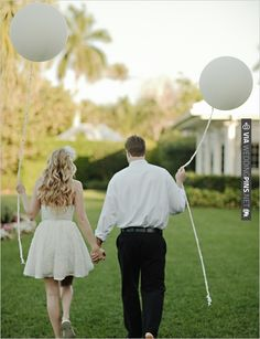 wedding ballons | VIA #WEDDINGPINS.NET