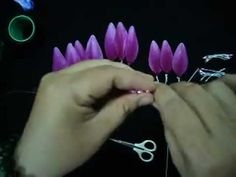 wire/nylon flowers http://www.youtube.com/channel/UCN5wX0qgyx6-Dh_R8yP47KQ