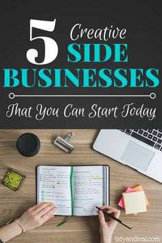 5 Creative Side Business Ideas That You Can Start Today | Personal Finance | Side Hustle | Dave jobs | Pay off debt | Make Money | Work from home | Tips | Extra money | Part time job