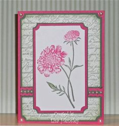 Preppy Field Flowers by ponygirl40 - Cards and Paper Crafts at Splitcoaststampers