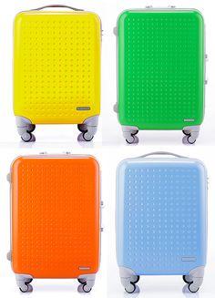 Bright cheery luggage.