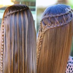 Tonight's #CGHLatticeBraid Combo tutorial is a variation of the #CGHLadderBraidCombo from 3 years ago! {Click the video link in our profile to see how easy this is to make, then tag 2 friends you want to learn this with you!}