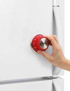 Lock Safe Kitchen Timer - Looks like you put a lock on the fridge