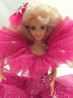 Mattel 1990 HAPPY HOLIDAYS BARBIE Special Edition Doll #Dolls