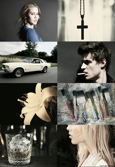 Sydney and Adrian from Bloodlines: Richelle Mead