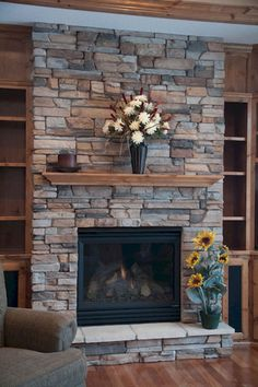 60 ideas about rustic fireplace (17)