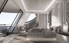 A++ Human Sustainable Architecture Flora Und Fauna, Yacht Design, Luxury Yachts, Dubai, Mirror, Architecture, Furniture, Home Decor, Arquitetura
