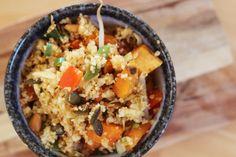 Recept: Couscous met Zoete Aardappel en Pompoenpitten
