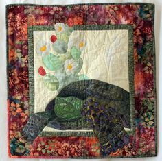 TORTOISE QUILT - Lookin' For Love Tortoise Wall Quilt Pattern. $8.00, via Etsy.