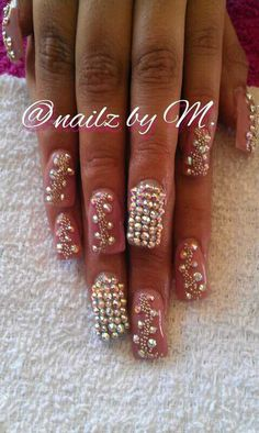 bling bling nails