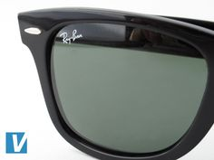 do ray ban prescription sunglasses have logo  the ray ban logo is printed on the right hand lense. again check the