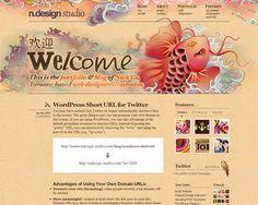 ndesign 50 Most Amazing Beautiful Blog Designs