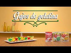Tip para hacer Gajos de Gelatina - YouTube - Dale a tu familia un postre lleno de color con estos ricos Gajos de Gelatina.