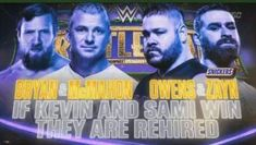 Daniel Bryan & Shane McMahon vs. Kevin Owens & Sami Zayn, If Kevin and Sami win they are Rehired Smackdown