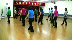 5.06 Chiki Cha Cha -Line Dance (Dance W & W/O Contra & Walk Through)