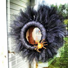 Halloween wreath!