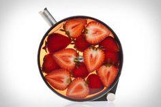 Porthole l'infusion artistique par le studio Crucial #cuisine #food #verre #glass