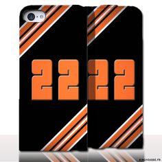 Protection iPhone 5 Cuir Numero - Personnalisez votre étui en cuir. #Bretagne #CotesArmor #22 #iPhone5 #etui #cuir
