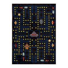 Momeni Lil mo whimsy LMJ14 Area Rug - Arcade black - LMOJULMJ14ABL5070