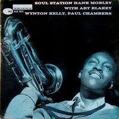 Hank Mobley | Soul Station  (1960) | Blue Note 4031 | Cover design by Reid Miles
