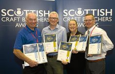 A Dundee butcher scooped a host of awards at an industry presentation. Local Butcher, Butcher Shop, Scott Brothers, Trade Fair, Dundee, Perth, Scotland, Awards, Presentation
