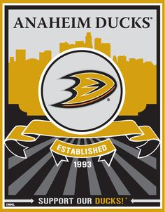Anaheim Ducks and still brought the Stanley Cup to So. Cal 1st.