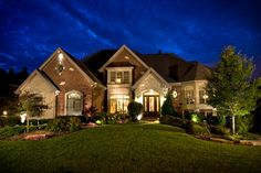 Stone and brick.  The French Classic - traditional - exterior - chicago - Gander Builders
