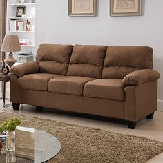 Red Barrel Studio Girardeau Sofa Upholstery: Brown