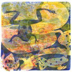 Anne Garland :: Monotypes