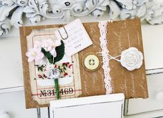 adorable envelopes/pockets by Melissa Phillips