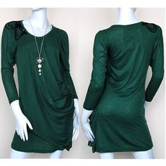 Vintage Green Long Sleeve Homecoming Party Mother of The Bride Dresses SKU-339
