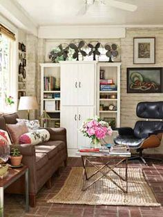 Living Room Decorating Ideas - How to Decorate a Victorian Cottage Living Room - Country Living